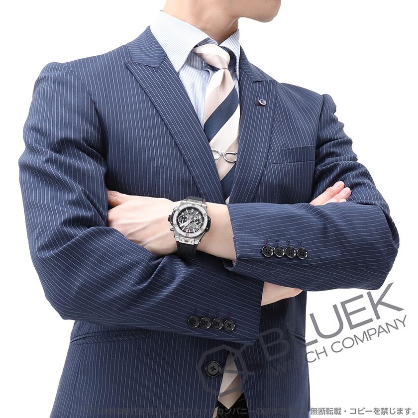 ウブロ ビッグバン ウニコ チタニウム クロノグラフ ダイヤ 腕時計 メンズ HUBLOT 441.NX.1170.RX.1104