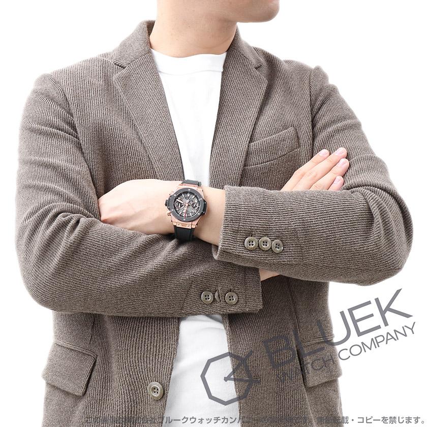 ウブロ ビッグバン ウニコ キングゴールド セラミック 金無垢 クロノグラフ 腕時計 メンズ HUBLOT 441.OM.1180.RX