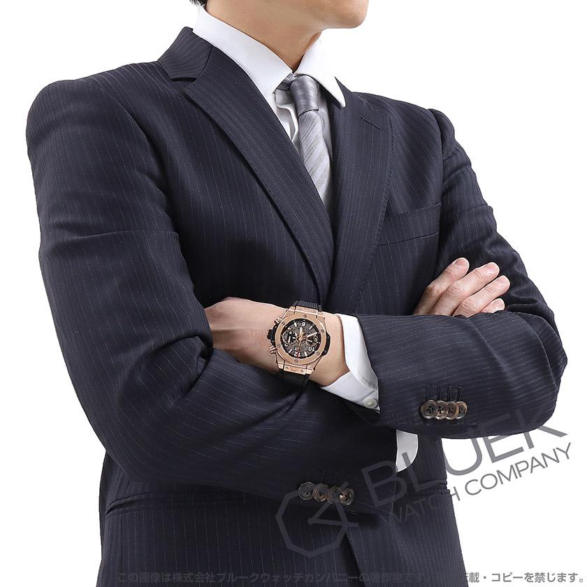 ウブロ ビッグバン ウニコ キングゴールド 金無垢 クロノグラフ 腕時計 メンズ HUBLOT 441.OX.1180.RX