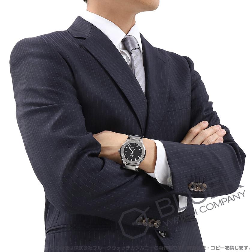 ウブロ クラシック フュージョン チタニウム 腕時計 メンズ HUBLOT 510.NX.1170.NX