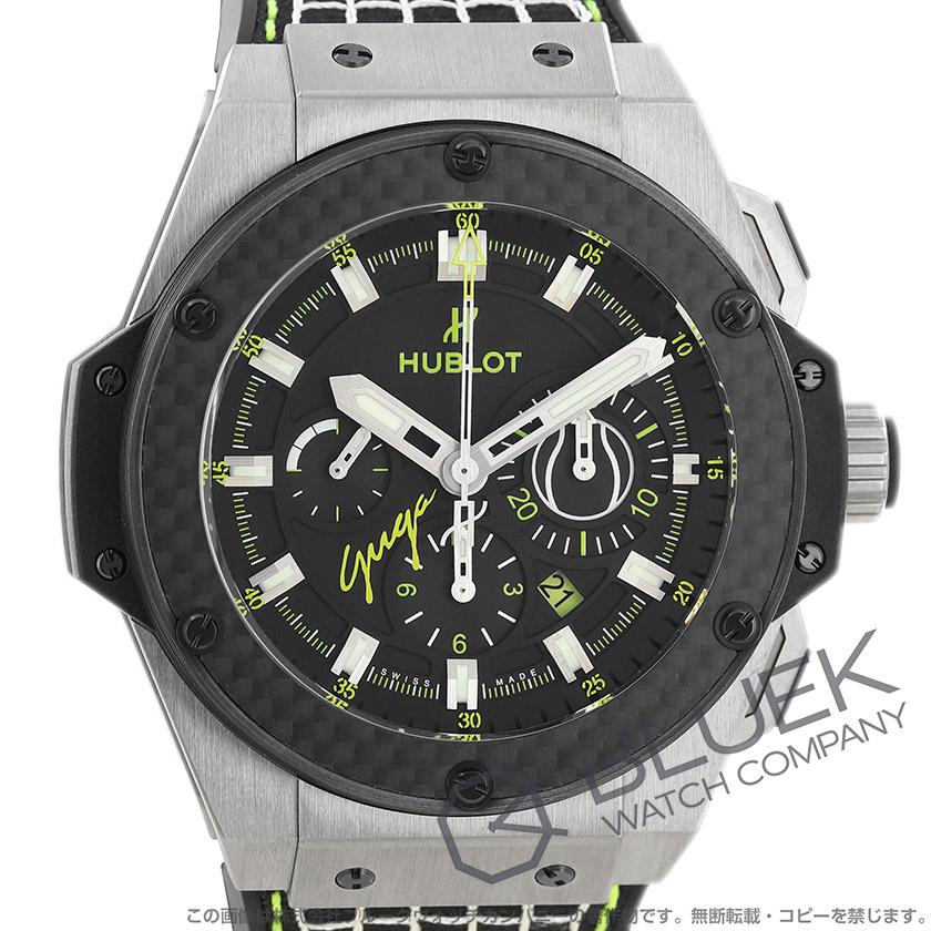 ウブロ キングパワー グガバン 世界限定100本 クロノグラフ 腕時計 メンズ HUBLOT 703.NQ.1129.NR.GUG13