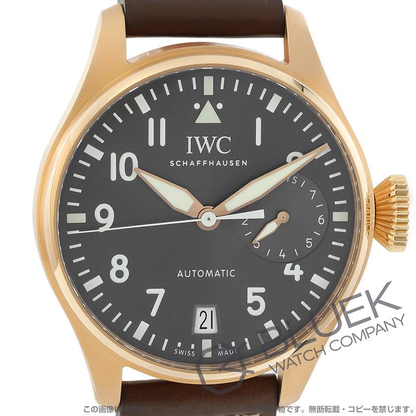 IWC ビッグ・パイロット・ウォッチ スピットファイア パワーリザーブ RG金無垢 メンズ IW500917