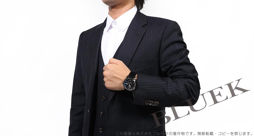 モンブラン タイムウォーカー デュアルカーボン クロノグラフ アリゲーターレザー 腕時計 メンズ MONTBLANC 105805