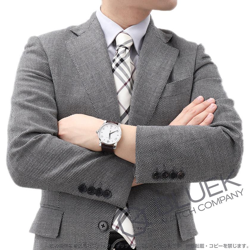 モンブラン タイムウォーカー アリゲーターレザー 腕時計 メンズ MONTBLANC 110338