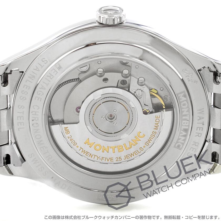 モンブラン MONTBLANCヘリテイジ クロノメトリー メンズ 112532