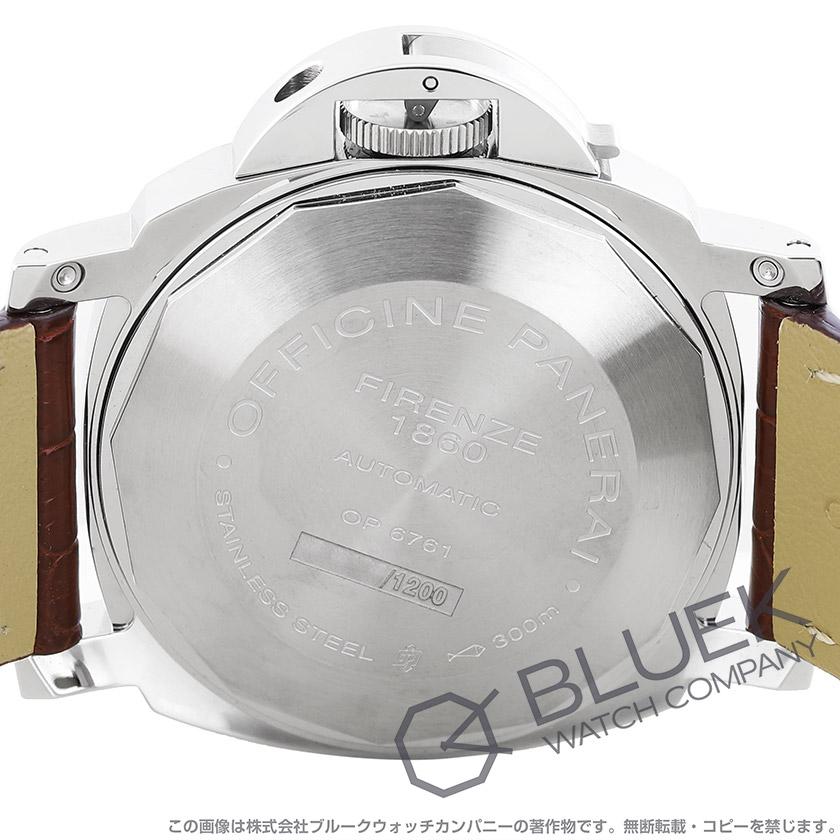 パネライ ルミノール GMT 300m防水 アリゲーターレザー メンズ PAM00088