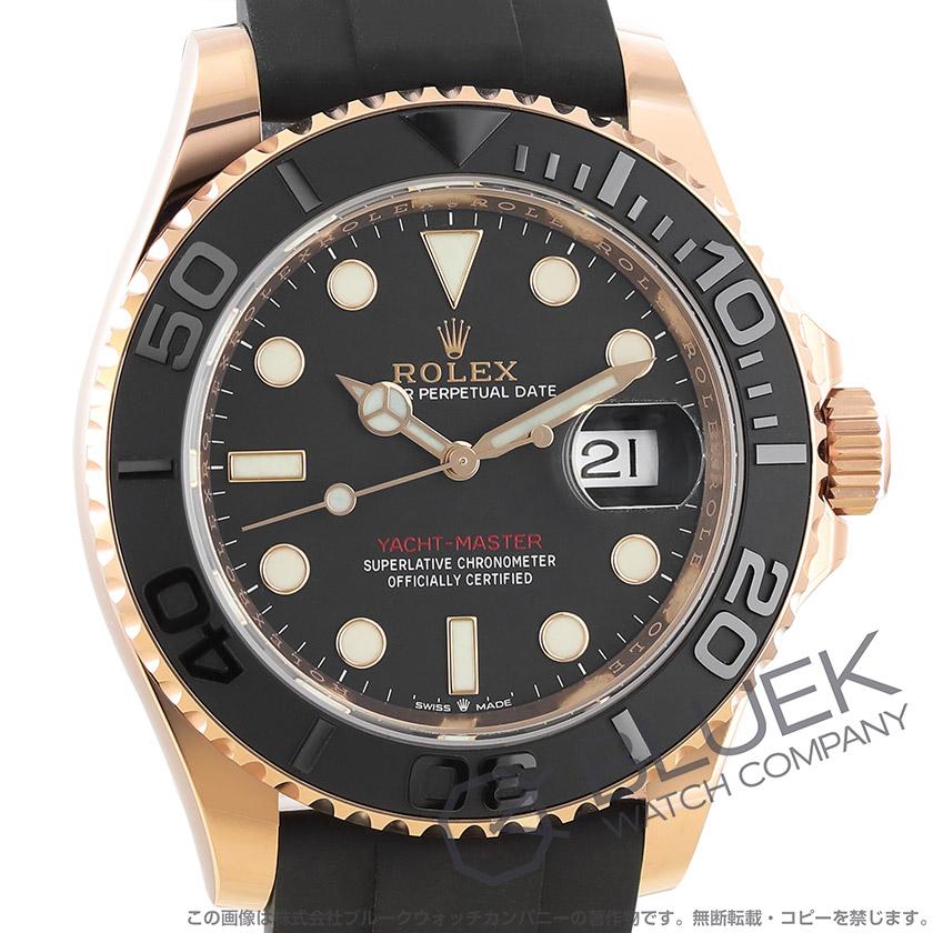 ロレックス ヨットマスター 40 RG金無垢 ユニセックス 126655