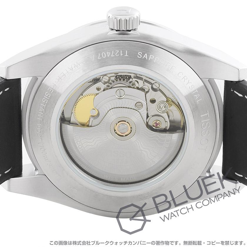 ティソ T-クラシック ジェントルマン パワーマティック80 シリシウム 腕時計 メンズ TISSOT T127.407.16.051.00