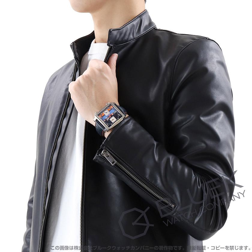 タグホイヤー モナコ キャリバー11 ガルフ スペシャルエディション クロノグラフ 腕時計 メンズ TAG Heuer CAW.211R.FC6401