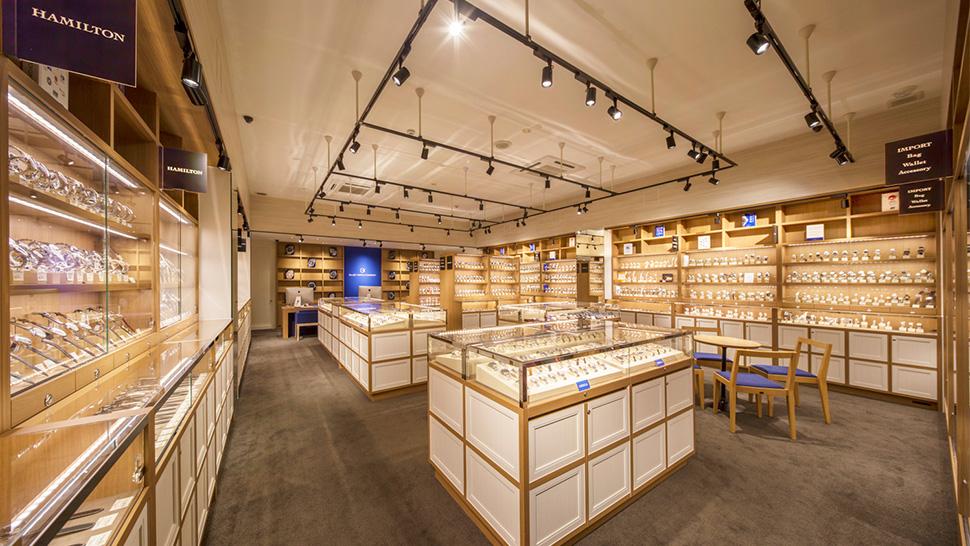 国内最大級の品揃えを誇る腕時計専門店