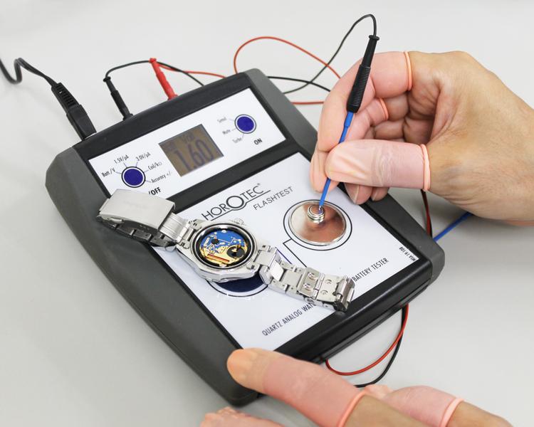 1年以内の電池切れは無償で電池交換いたします
